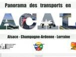 PANORAMA DES TRANSPORTS EN ALSACE-CHAMPAGNE-ARDENNE-LORRAINE